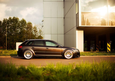 AUDI A3 SPORTBACK | JR10 | Silver Machined | 19×9.5 & 19×11