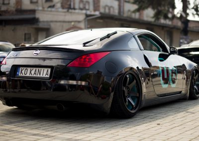 NISSAN 350Z | JR3 | Matt Black | 19×9.5 & 19×10.5