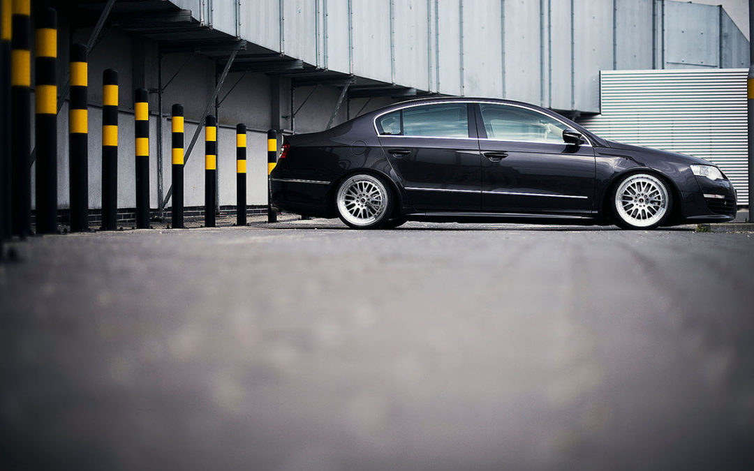 VW PASSAT | JR10 | Silver Machined | 18×8.5 & 18×9.5