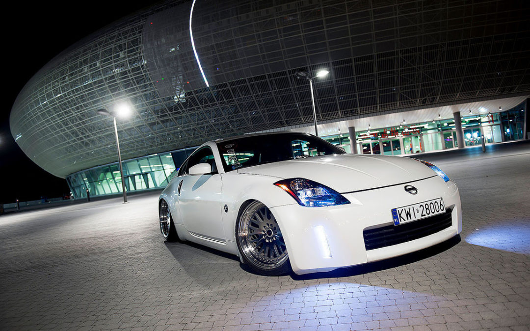 NISSAN 350Z | JR10 | Silver Machined | 19×9.5 & 19×11