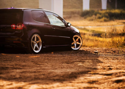 VW GOLF MK5 GTI | JR24 19×8.5 & 19×9.5