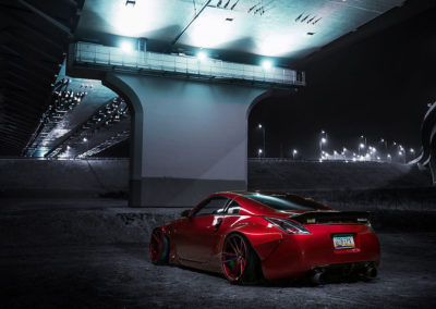 NISSAN 350Z | JR21 | Candy Red | 20×11