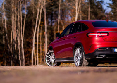 MERCEDES GLE COUPE | JR21 22×9.5 & 22×10.5