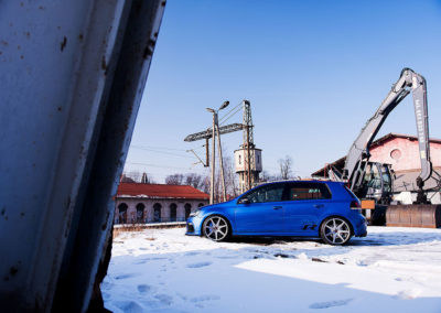 NEW VW GOLF MK6 R | JR20 19×8.5 & 19×9.5