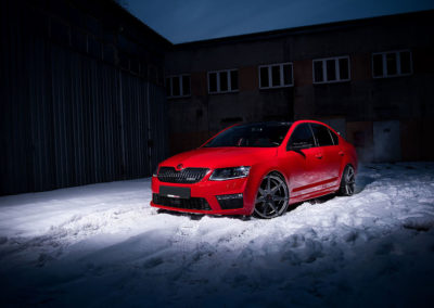 SKODA OCTAVIA RS | JR20 19×8.5 & 19×9.5