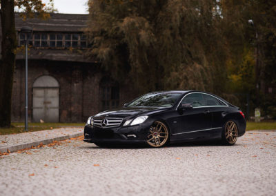 MERCEDES E KLASS COUPE | JR25 19×8.5 & 19×9.5