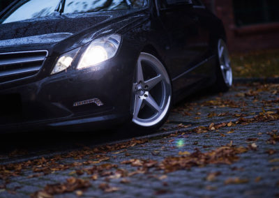 MERCEDES E KLASS COUPE | JR24 19×8.5 & 19×9.5
