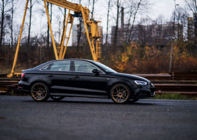 AUDI A3 SEDAN | JR25 | Matt Bronze | 19×8.5 & 19×9.5
