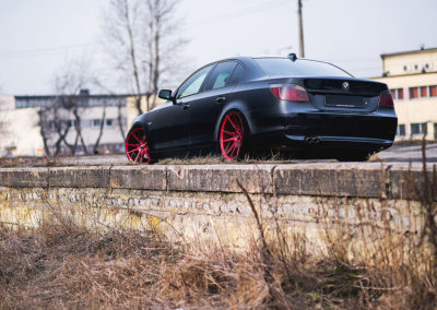 BMW E60 | JR21 | Candy Red