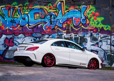 MERCEDES CLA 45 AMG | JR21 | Candy Red