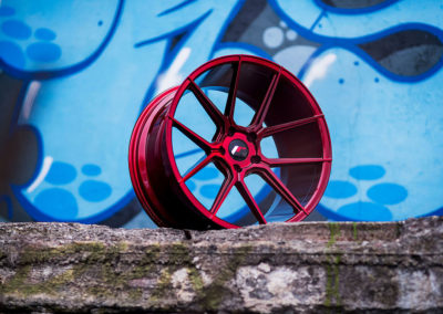 DISKY | JR30 | Candy Red